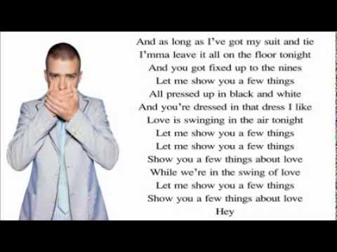 Justin Timberlake ft. Jay-Z - Suit & Tie (Lyrics) Video