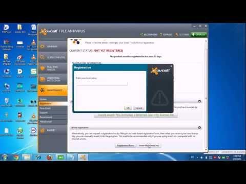 Avast Anti-Virus 2013 Serial Key Valid up to 2038. 100% Working