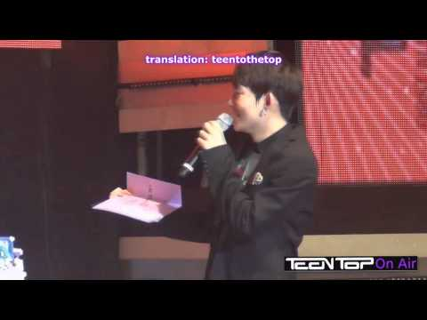 (eng sub) Teen Top On Air - Ricky's 19th Birthday Party