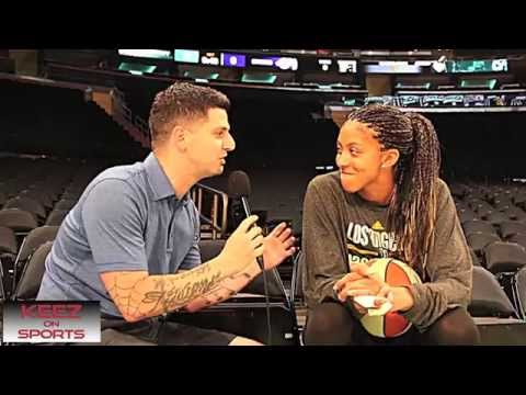 Candace Parker talks kicks with Keez On Sports