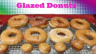 Glazed Donuts - Eggless Baking Recipe - SRUTHISKITCHEN