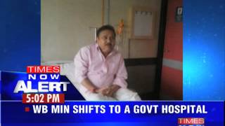 West Bengal transport minister Madan Mitra admitted in hospital - TIMESNOWONLINE