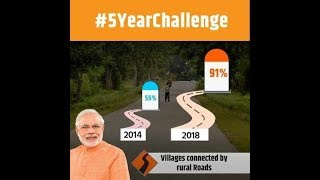 BJP's #5yearchallenge takes a dig at UPA, highlights NDA achievements - TIMESOFINDIACHANNEL