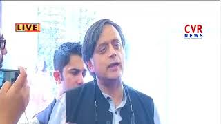 Congress MP Shashi Tharoor Refuses To Clarify Over His Statement On Taliban jibe | CVR - CVRNEWSOFFICIAL