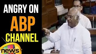 Mallikarjun Kharge alleged that Government was Attempting to Silence Media Houses | Mango News - MANGONEWS