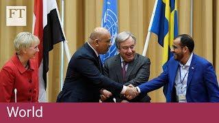 Yemen's warring parties agree to Hodeidah ceasefire - FINANCIALTIMESVIDEOS