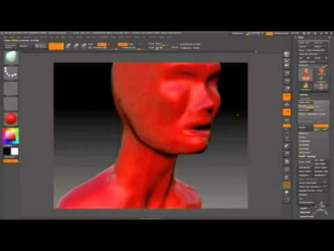 Digital Sculpt: Female Head 1