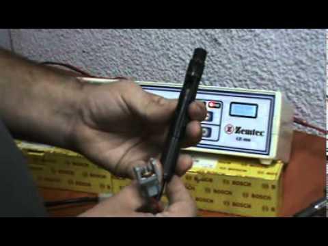 Funcionamiento Fuente CR-100 Generador de Pulsos Inyectores Common Rail Zemtec