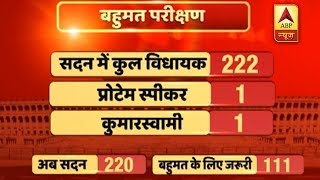 Know the options before BJP to prove majority in assembly floor test today - ABPNEWSTV