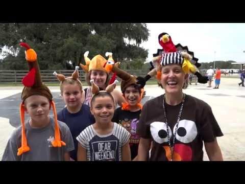 Turkey Trot at Turlington Elementary