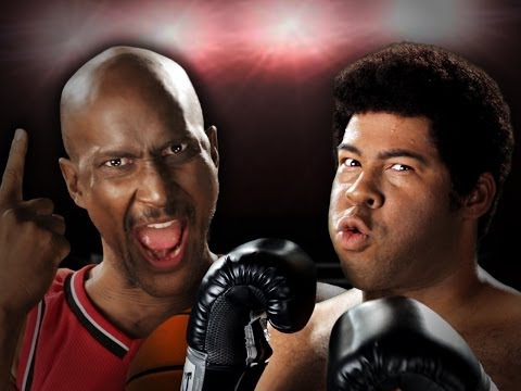 Hilarious Michael Jordan v. Muhammad Ali Rap Battle
