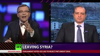 CrossTalk: Leaving Syria? - RUSSIATODAY