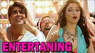 Akshay Kumar and Tamanaah Bhatia talk about 'Entertainment' | Bollywood News