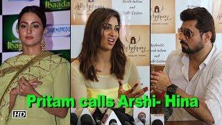 Rj Pritam calls Arshi as Hina, Watch her reaction - IANSLIVE