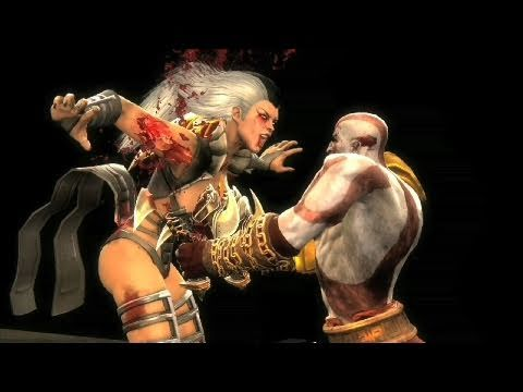 Mortal Kombat 9 - Kratos Gameplay Trailer (2011) MK9 | HD
