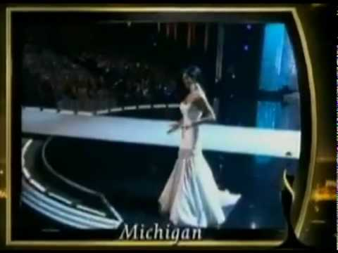 Miss USA 2010 Rima Fakih trips and falls on stage as miss michigan. Embarassing stripper scandal