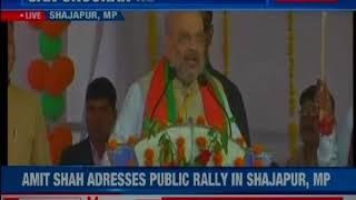 BJP President Amit Shah addresses mega-rally in Bhopal, Madhya Pradesh - NEWSXLIVE