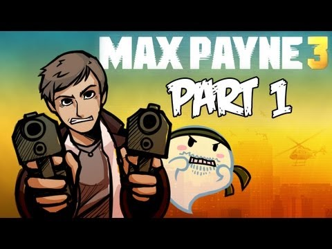 Max Payne 3 - Gameplay Walkthrough - Part 1 - Chapter 1 - BULLET TIME RETURNS!! (Xbox 360/PS3/PC) [HD]