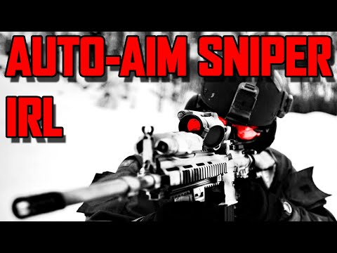 Military Creates Auto-Aim Sniper IRL
