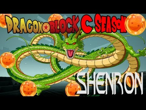 Minecraft Dragon Block C Mod S2 -  GETTING THE 7 DRAGON BALLS AND SHENRON! Episode 2