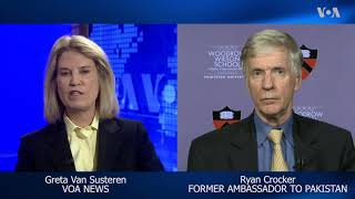 VOA Interview: Former US Ambassador to Pakistan Ryan Crocker - VOAVIDEO