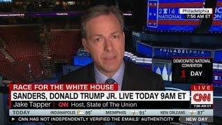 Jake Tapper discusses DNC email scandal - CNN