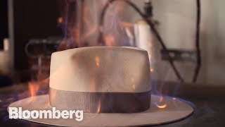 How Custom $1,000 Hats Are Forged - BLOOMBERG