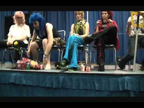 Demyx Time Panel (Sunday) Part 3/5 - Metrocon 2011