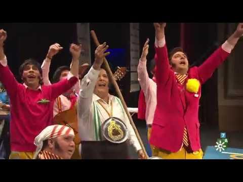 Sesión de Semifinales, la agrupación Cai de miarma (7,20) actúa hoy en la modalidad de Chirigotas.