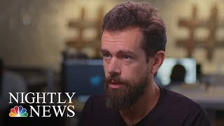 Exclusive: Twitter CEO Jack Dorsey On Alex Jones' 'Timeout' | NBC Nightly News - NBCNEWS