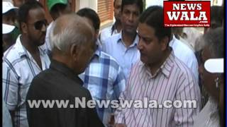Mouzam Khan's door to door canvassing in Bahadur Pura constituency - THENEWSWALA