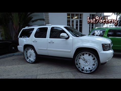 CUSTOM Chevy Tahoe on 32&quot; FORGIATOS - 1080p HD