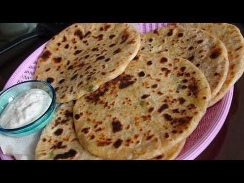 Aloo Gobi paratha(Flat bread stuffed with Potato and Cauliflower)