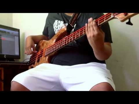 Max Rufo 4 string Custom Bass Demo - Fodera Monarch inspired