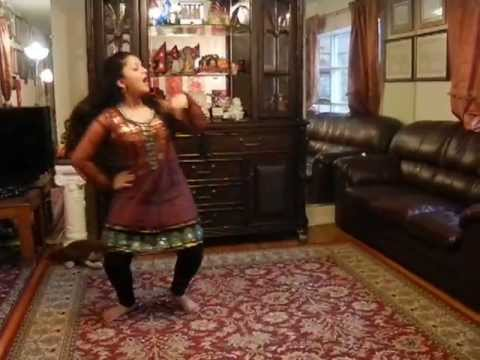 Susma Khanal dancing in mixed nepali songs