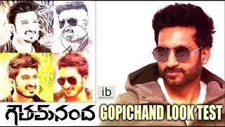 Gopichand look test for Goutham Nanda | Hansika | Catherine Tresa - idlebrain.com - IDLEBRAINLIVE