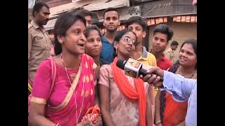 People of Kashi express joy after watching PM Modi live during his roadshow - ABPNEWSTV