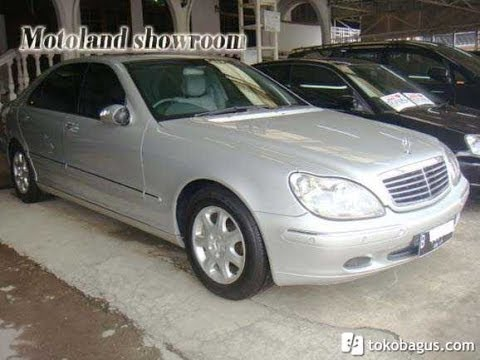 Dijual Mercedes Benz S 320 L Silver AT 2003
