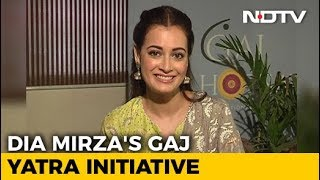 Dia Mirza Launches India's First Wildlife Anthem; Opens Up About Lynching In The Name Of Cow - NDTV