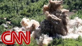 Video appears to show North Korea dismantling nuclear site - CNN