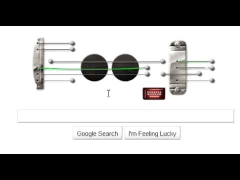 google doodle guitar - Les Paul