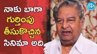 I Got Recognition With That Film - Kaikala Satyanarayana || Dialogue With Prema - IDREAMMOVIES