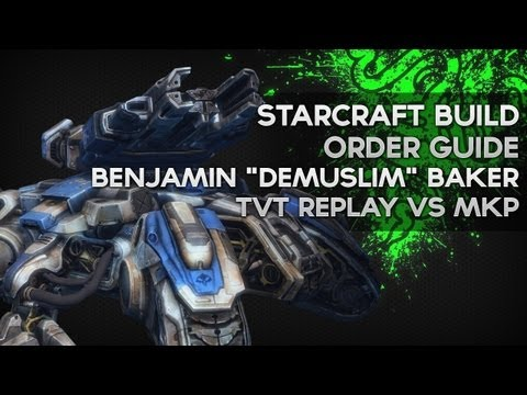 Bio vs Mech - MKP - Benjamin 'EG.DeMusliM' Baker - Starcraft Replay Analysis 15 - Razer Academy