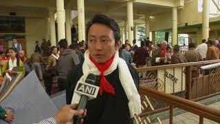 22 Apr, 2018 - Dalai Lama meets Tibetan opera artists in northern India - ANIINDIAFILE