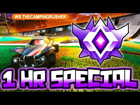 GOING FOR GRAND CHAMPION IN ROCKET LEAGUE!! (1 HR SPECIAL)