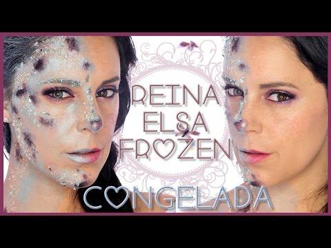 Maquillaje Reina Elsa efecto Congelada FX#79, efectos especiales