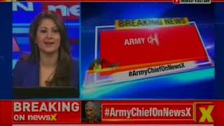 Pak must protect N-Arsenal from terror, says Army Chief Bipin Rawat on NewsX - NEWSXLIVE