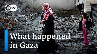 What happened in Gaza | DW News - DEUTSCHEWELLEENGLISH