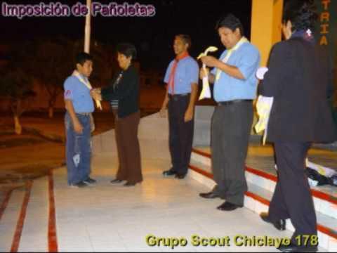 Grupo Scout Chiclayo 178 (Imposición de pañoletas)