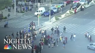 Significant Earthquakes Hit Mexico and Wales | NBC Nightly News - NBCNEWS